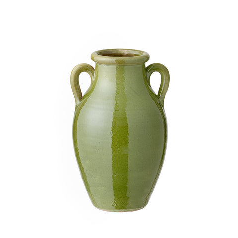 Ceramic Berber Fern Green Vase by Bungalow.