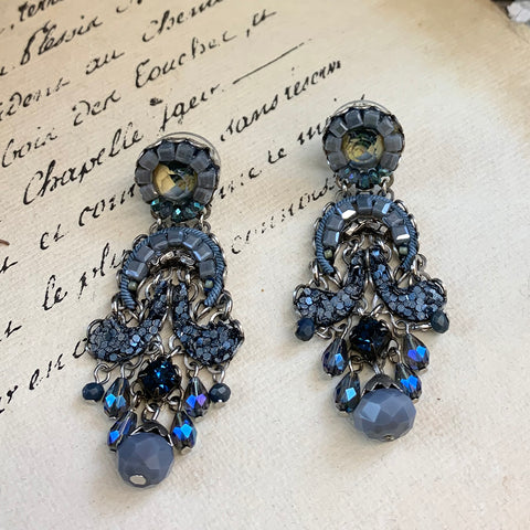 Ayala Bar Blue Fog Earrings.