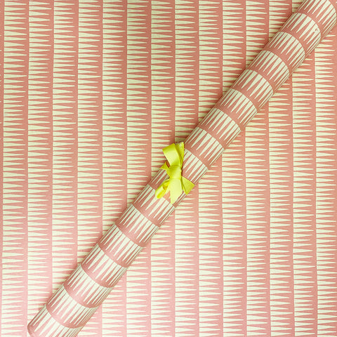 Bungalow Wrapping Paper Pink Geometric