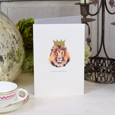 Elena Deshmukh Card, Happy Birthday Lion.