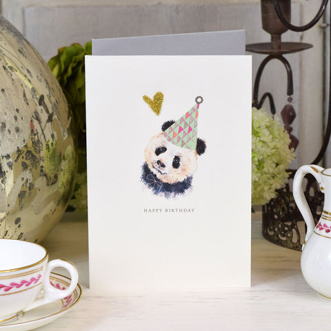 Elena Deshmukh Card, Happy Birthday Panda.