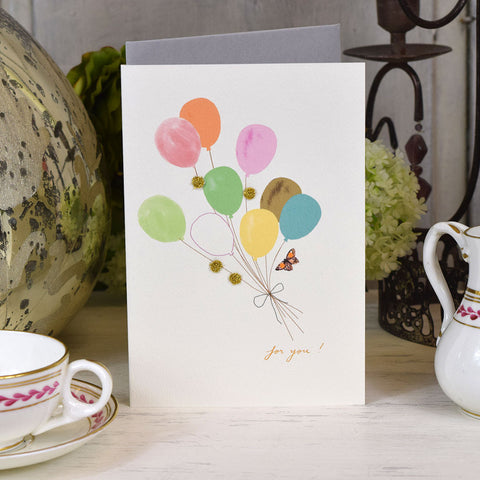 Elena Deshmukh Card, For You Balloons.