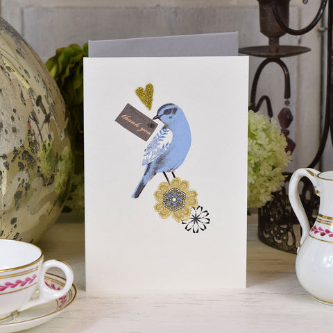 Elena Deshmukh Card, Thank You Bird.