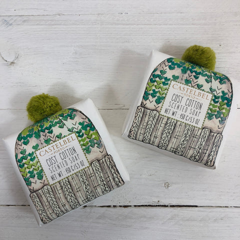 Castelbel Cosy Cotton Pom Pom Soap.