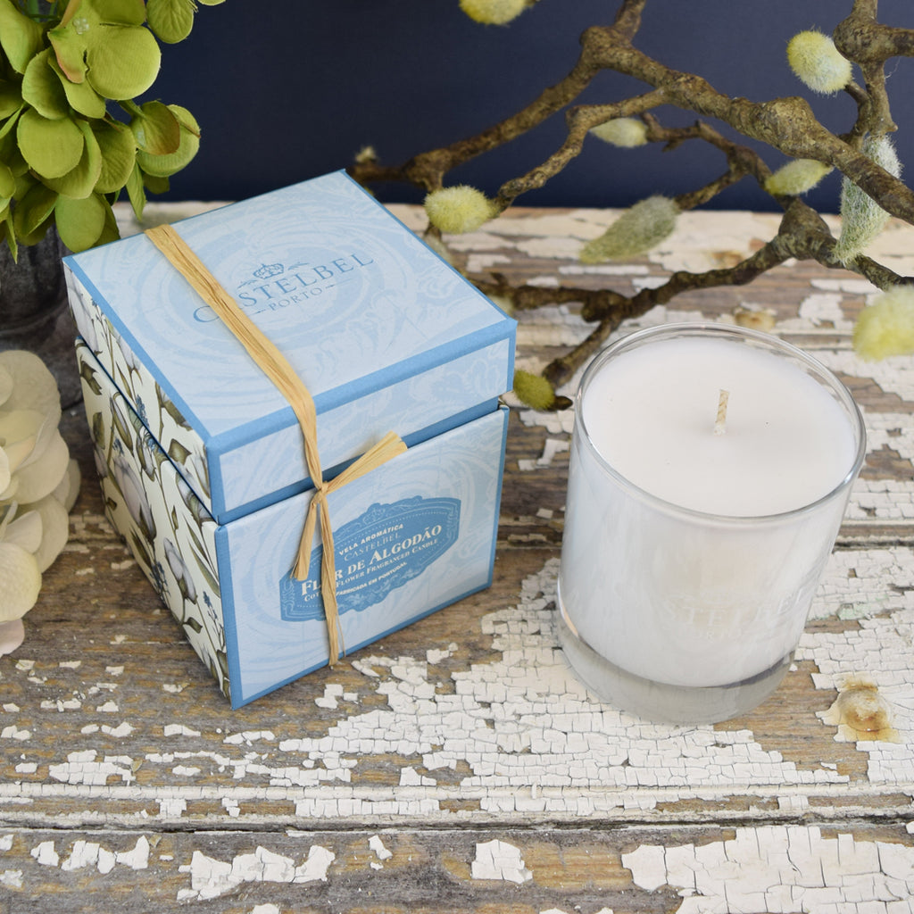 Castelbel Cotton Flower Candle.