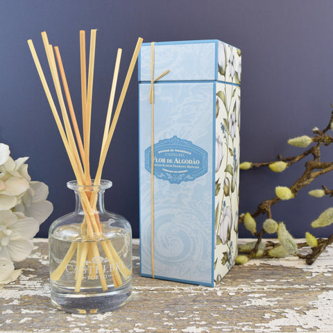 Castelbel Cotton Flower Fragrance Diffuser.