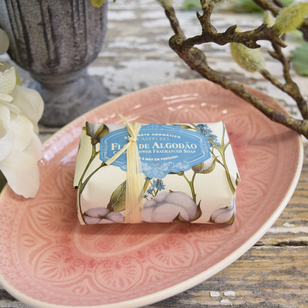 Castelbel Cotton Flower Bar of Soap.