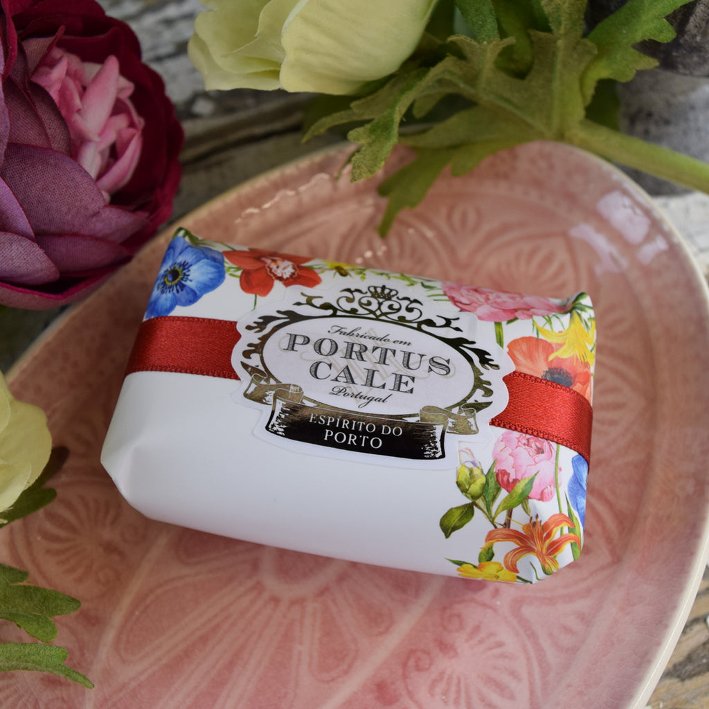 Castelbel Portus Cale Blooming Garden Bar of Soap.