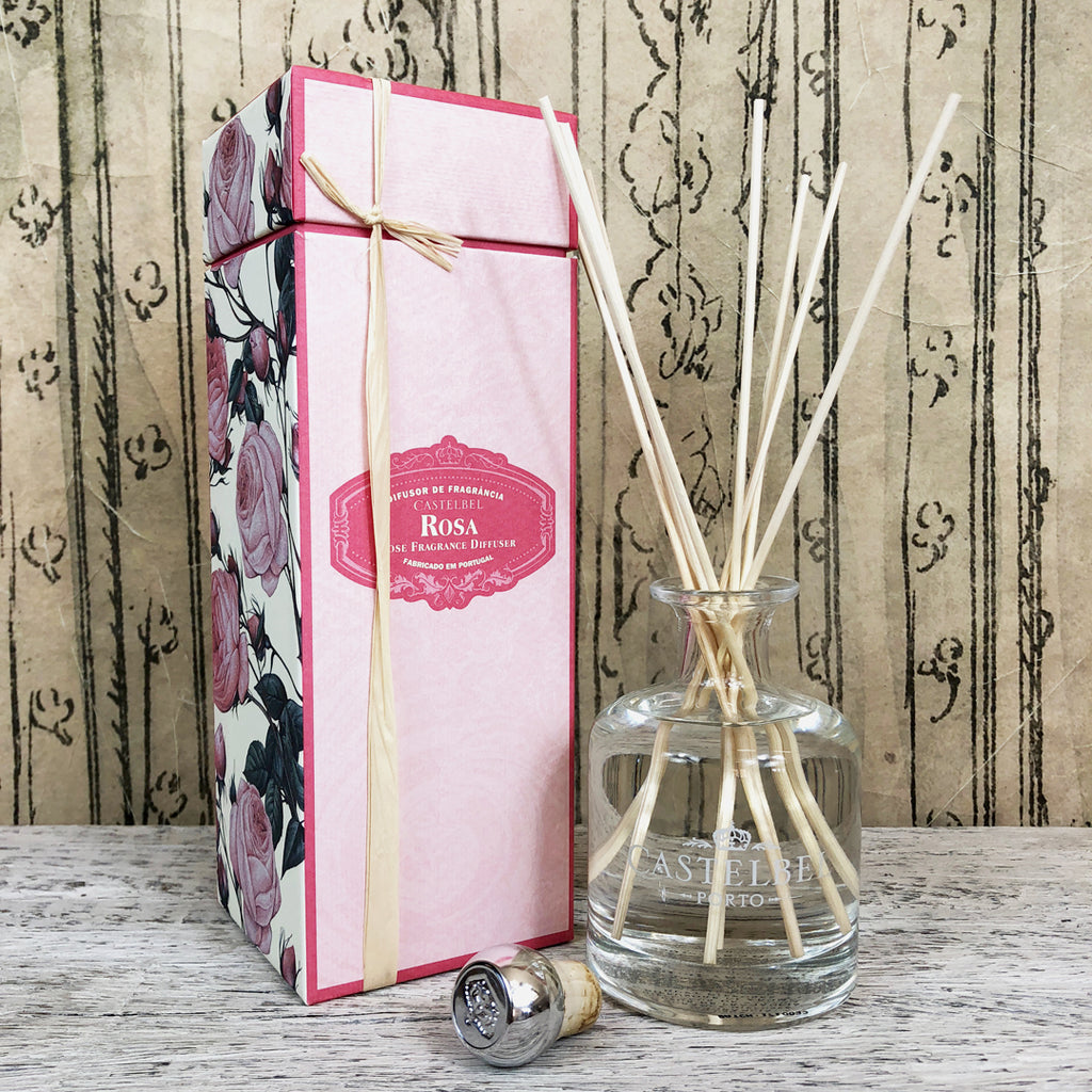 Castelbel Rose Fragrance Diffuser.