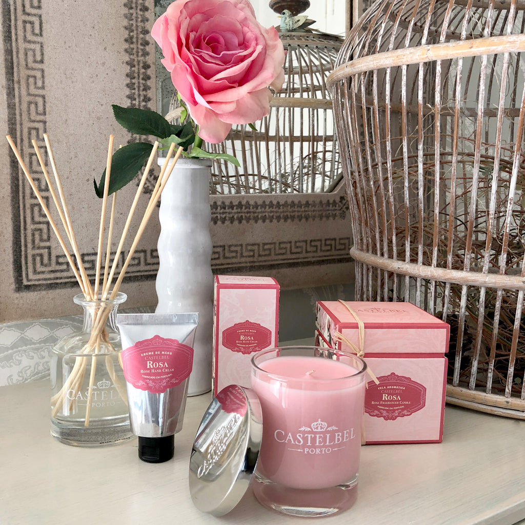 Castelbel Rose Scented Candle.