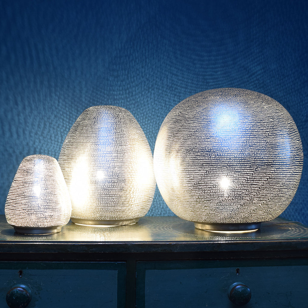 Zenza Cone Table Lamps.