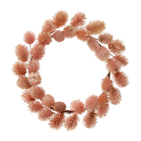 Bungalow Dk Thistle Nude Wreath