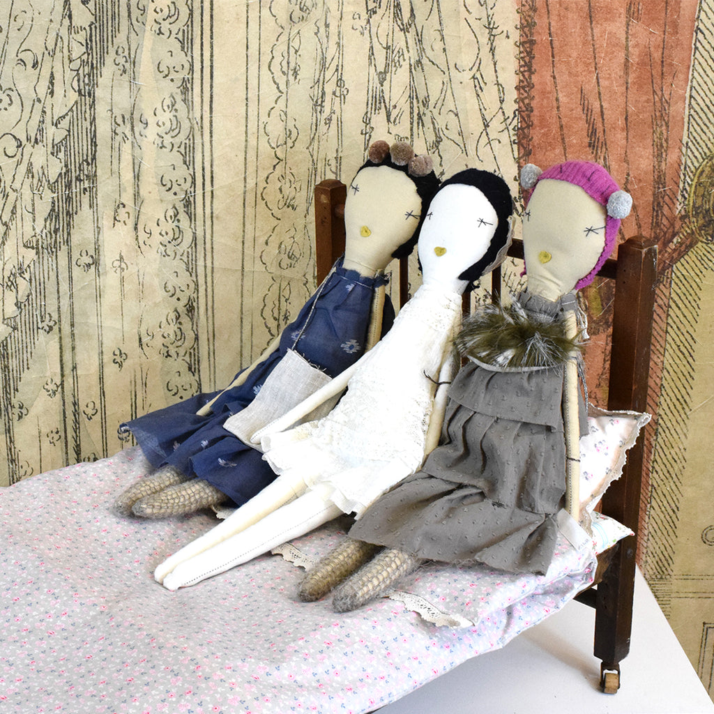 Delilah and friends, Rag Dolls by Jess Brown
