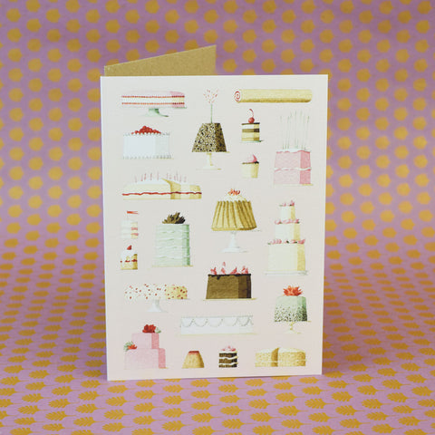 Laura Stoddart Card, Cakes.