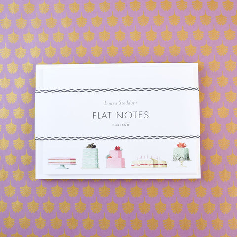 Laura Stoddart Flat Notes, Cakes.