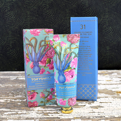 Tokyo Milk 20,000 Flowers under the Sea No. 31 Shea Butter Hand Cream.