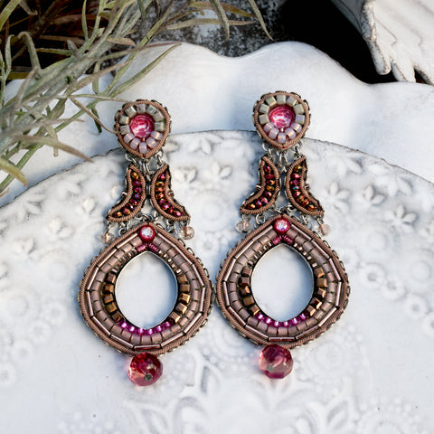 Ayala Bar Secret Cave Ruby Earrings