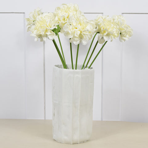 Abigail Ahern Flowers: Faux Dahlia Cream Stems