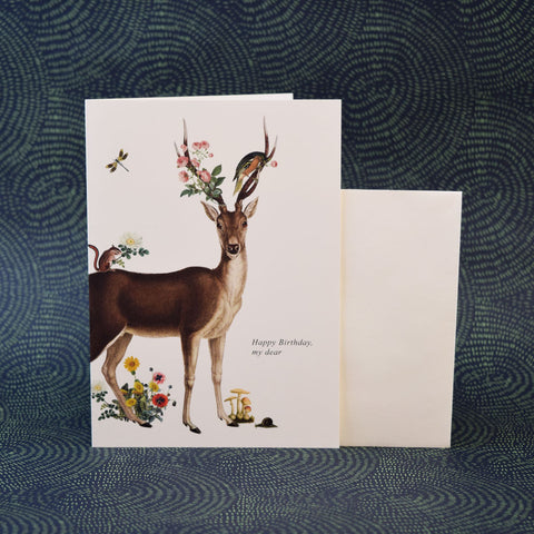 Phun House Card, Happy Birthday Deer.