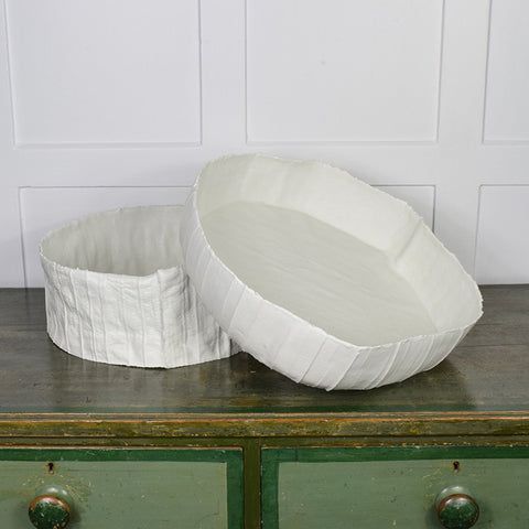 Deep ceramic paper clay bowls