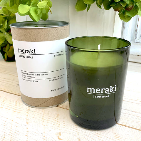 Meraki Earthbound Candle.