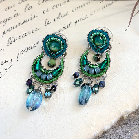 Ayala Bar Green River Gilly Earrings.