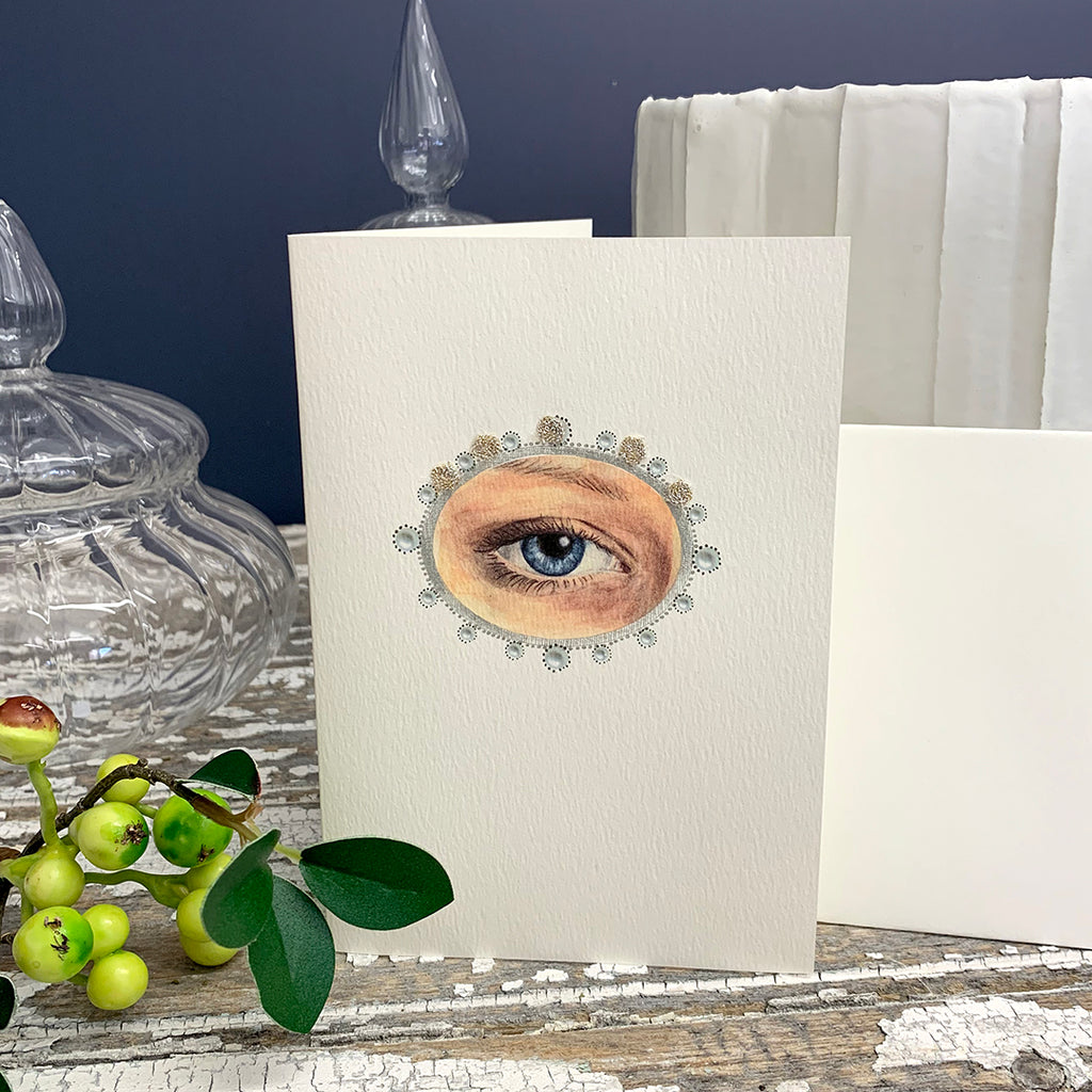 Elena Deshmukh Card, Eye Minature.