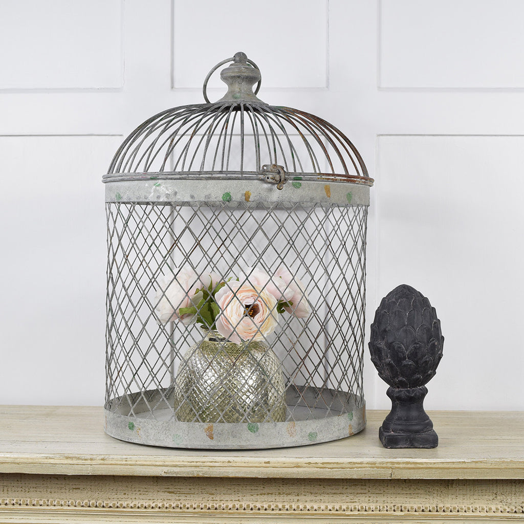 French Decor Birdcage