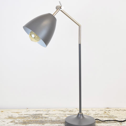 Dark Grey Table Lamp