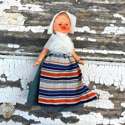 Hertwig Antique Miniature Dutch Doll