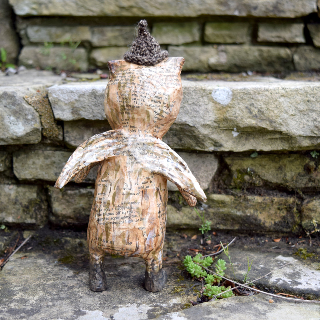 Julie Arkell Creature, 'I Am Brown Owl'.