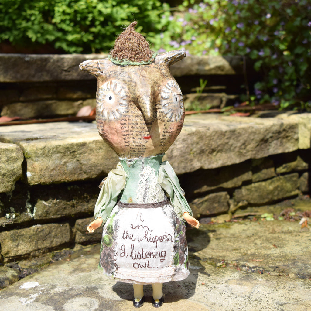 Julie Arkell Creature, 'I Am The Whispering Listening Owl'.