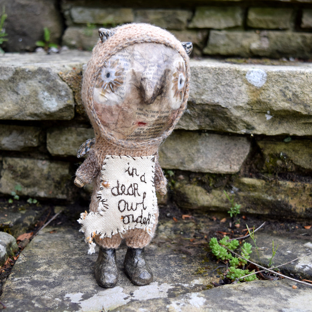 Julie Arkell Creature, 'In A Dear Owl Order'.