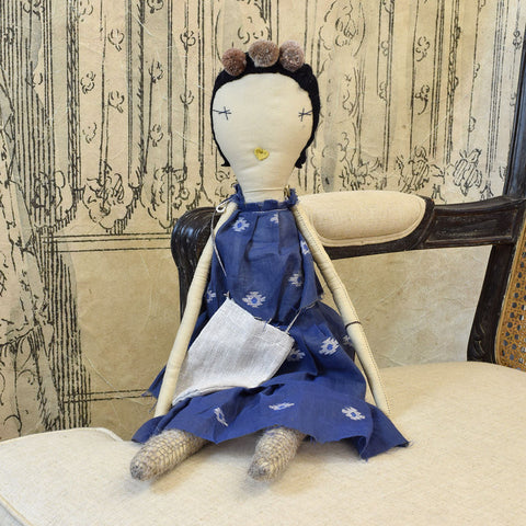 Jess Brown 'Delilah' Rag Doll.