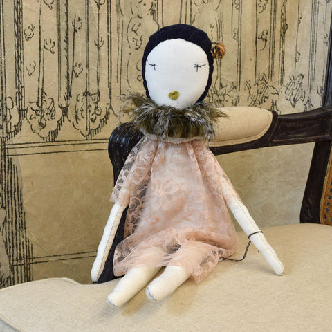 Jess Brown 'Florence' Rag Doll.
