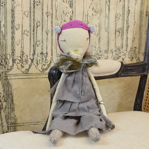 Jess Brown 'Nellie' Rag Doll.