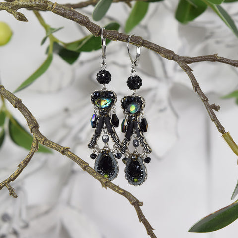 Ayala Bar Jewelled Drop Earrings