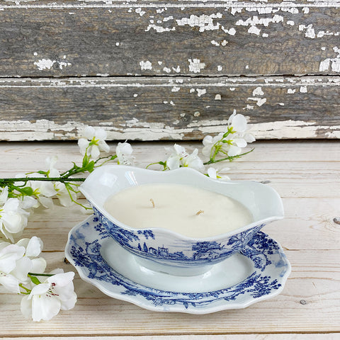 Kiki L'eclaireur Scented Candle, Vintage Sugar Bowl..
