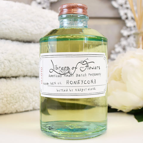 Library of Flowers honeycomb bath oil