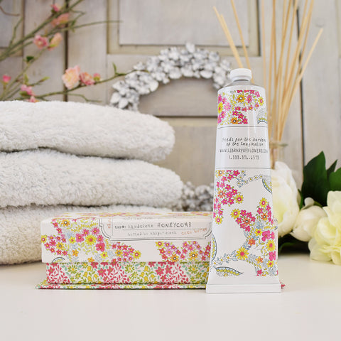 Library of Flowers Honeycomb hand cream