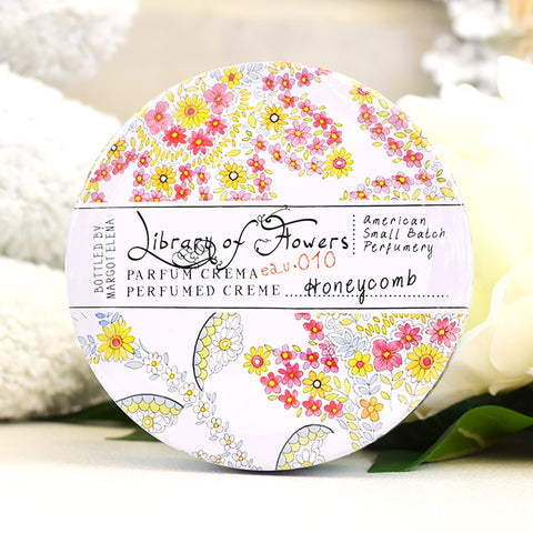 Library of Flowers Honeycomb Perfumed cream