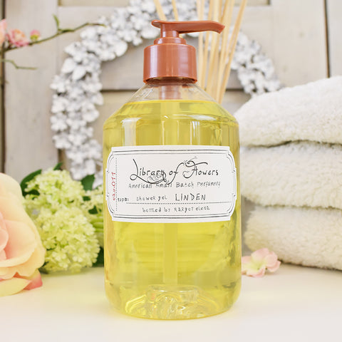 Library of flowers Linden scented shower Gel
