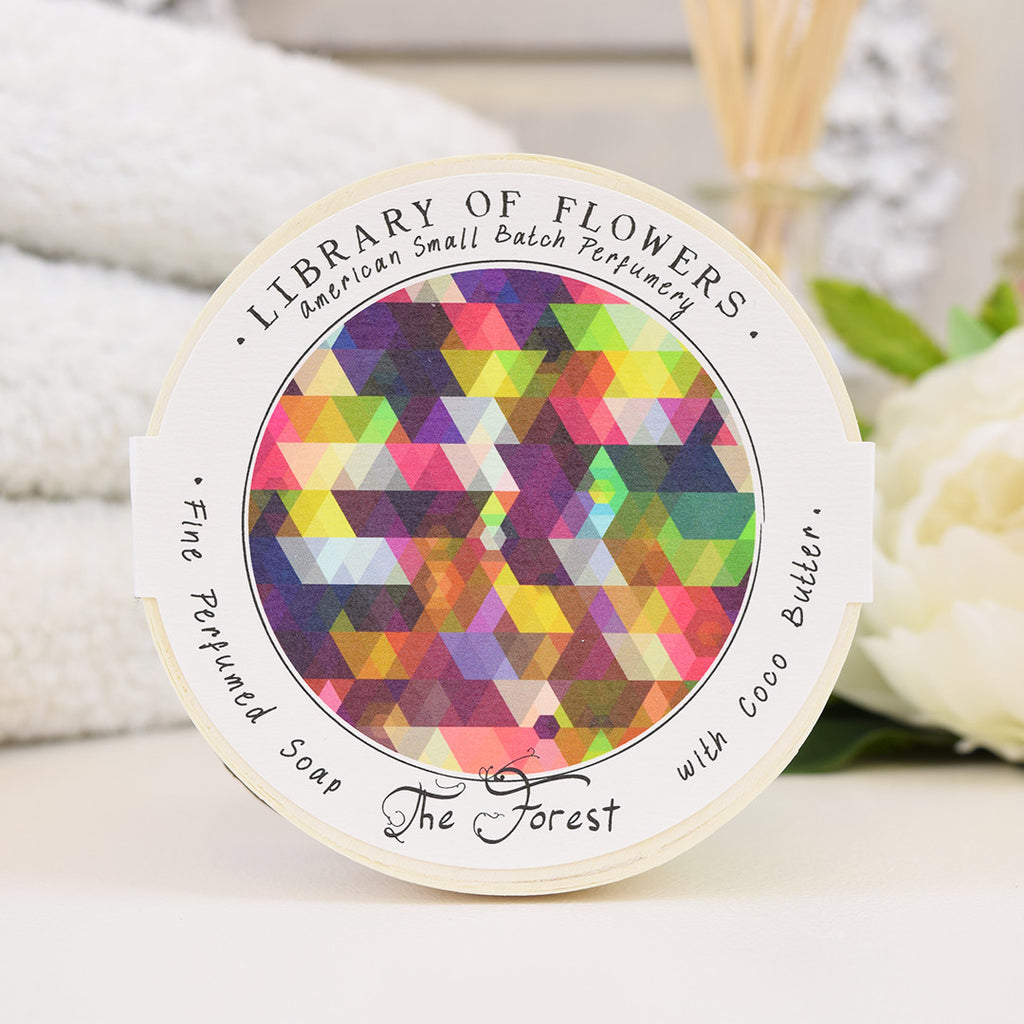 Library of Flowers The Forest scented soap
