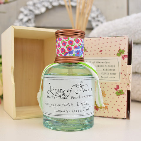 Library of flowers Linden scented Eau De Parfum