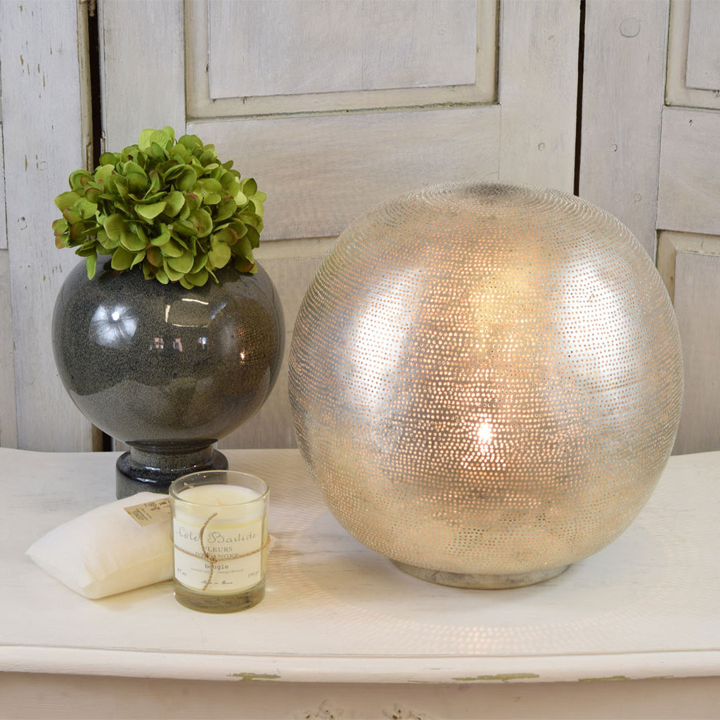 Zenza Globe Table Lamps.