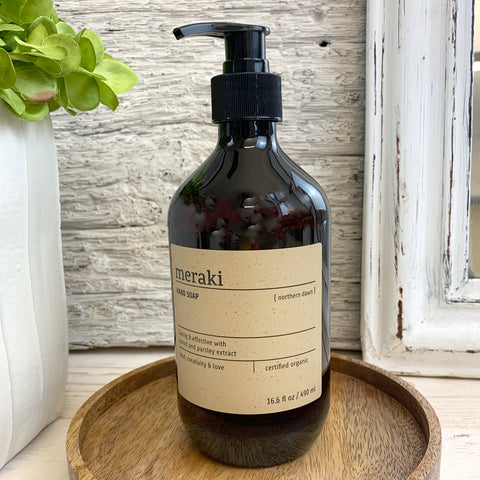 Meraki Northern Dawn Hand Soap.