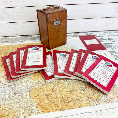 Vintage Ordnance Survey Layered Great Britain Map Box.