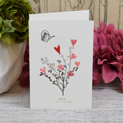 Elena Deshmukh Card, Our Love Grows.
