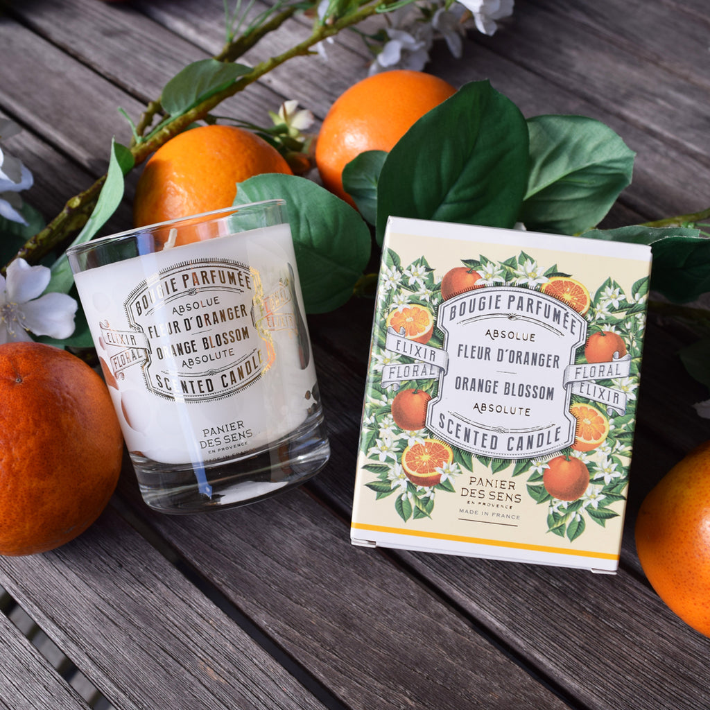 Panier Des Sens Orange Blossom Scented Candle Curated Living