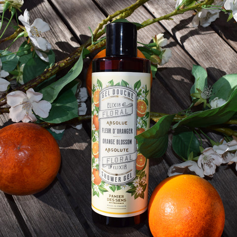Panier des Sens Orange Blossom Shower Gel.